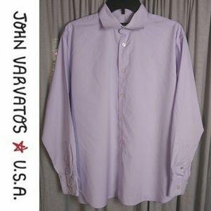 John Varvatos Star USA Purple Dress Shirt